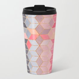 Happy Cubes Metal Travel Mug