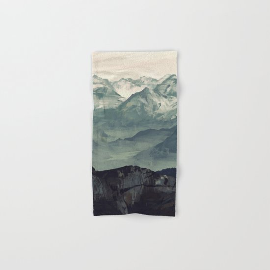 Mountain Fog Hand & Bath Towel