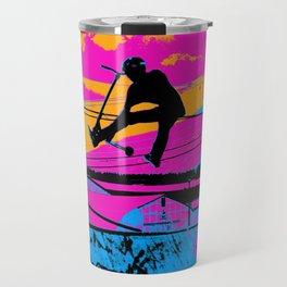 Lets Fly!  - Stunt Scooter Travel Mug