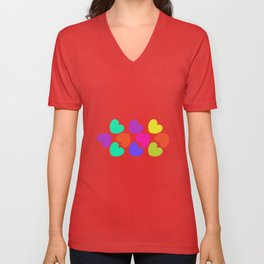 Young hearts Unisex V-Neck