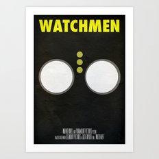 Watchmen - Nite Owl Art Print