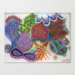 first chaos Canvas Print