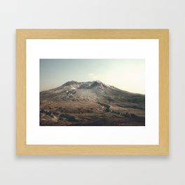 Mt. St. Helens Framed Art Print