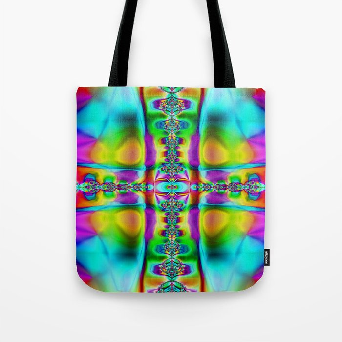 Cross Fade Tote Bag