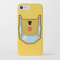 transformers iPhone & iPod Cases featuring Transformers - Sunstreaker by CaptainLaserBeam