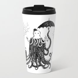 Young Master Lovecraft Finds A Friend Travel Mug