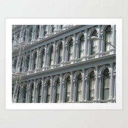 SoHo Arches - New York City Art Print