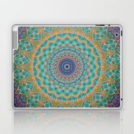 Travel Into Dimensions Mandala. Laptop & iPad Skin