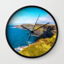 The Cliffs of Moher Wall Clock