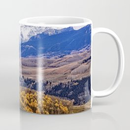 Mountain majesty and autumn gold Coffee Mug