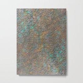 Abstract Northern Lights Metal Print