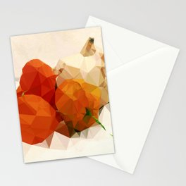 Physalis with Pumpkin Stationery Cards