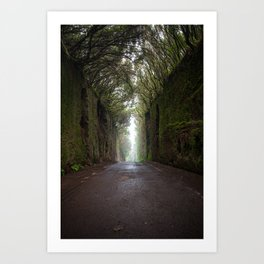 Road to infinity Art Print