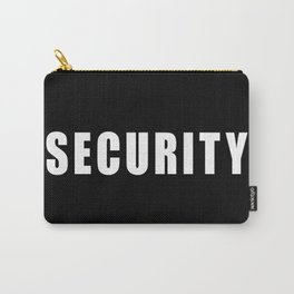 SECURITY TEE SHIRT Carry-All Pouch