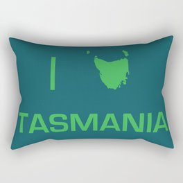 I heart Tasmania Rectangular Pillow