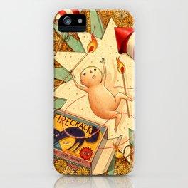 Firecracker iPhone Case