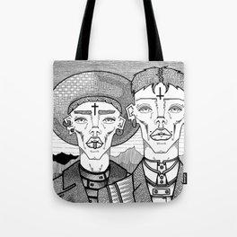 Messengers Tote Bag