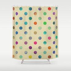 Sweet Dots Shower Curtain