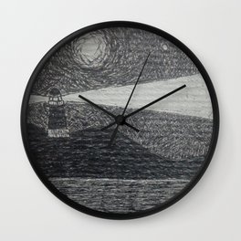 the lighthouse II Wall Clock