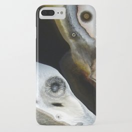 Janus - God of Beginnings, transitions, and duality - Original Abstract Painting iPhone Case