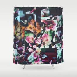 Fractions 16 Shower Curtain