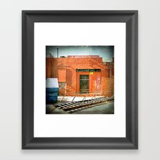 Setting the stage and taking control Framed Art Print