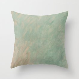 Morisot Brushmarks Throw Pillow