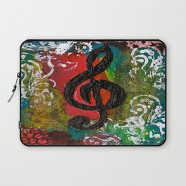 Create Music  Laptop Sleeve