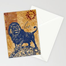 leo   löwe Stationery Cards