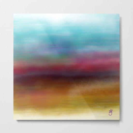 C for Colorful Metal Print