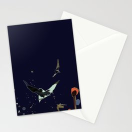 vol de nuit Stationery Cards