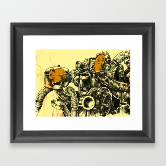 Hamsters Framed Art Print