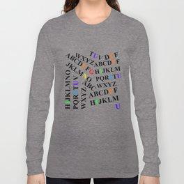 Genius - Font Graphics Long Sleeve T-shirt