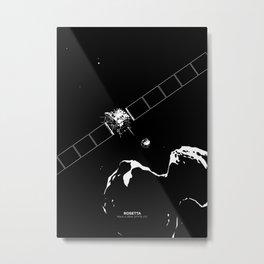 ROSETTA Metal Print