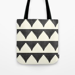 Lash in Black and White Tote Bag
