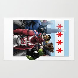 Chicago Sports Rug
