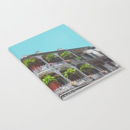 Hanging Baskets of Royal Street, New Orleans Notebook