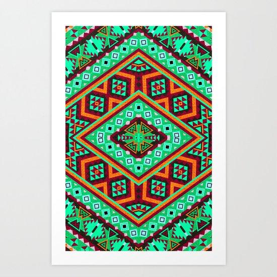 Cacique Art Print