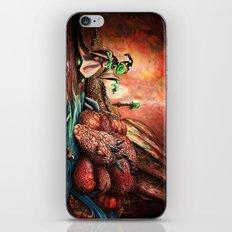 Magician and the Dragon iPhone & iPod Skin