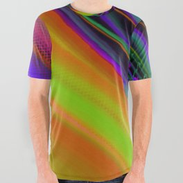 Color Wave ~013~ All Over Graphic Tee