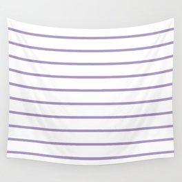 Lavender Breton Stripes Wall Tapestry