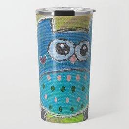 One for the owl Travel Mug