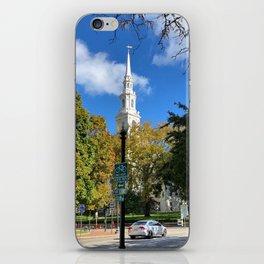Church Spires in Providence 1 iPhone Skin