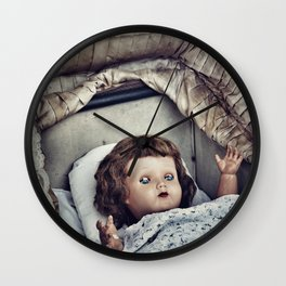 Haunted she is Wall Clock