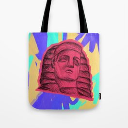 psychedelic two Tote Bag