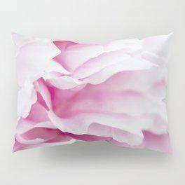 Pink Flower Petals Pillow Sham