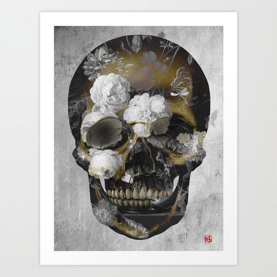 Skull No.3 Art Print