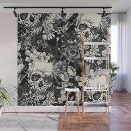 SKULLS HALLOWEEN SKULL Wall Mural