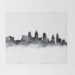 Philadelphia Skyline Throw Blanket