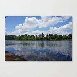 Day At The Lake Canvas Print